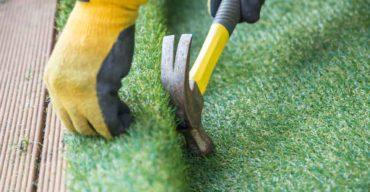 como instalar grama sintética