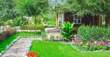Decoração de jardim com grama sintética: dicas