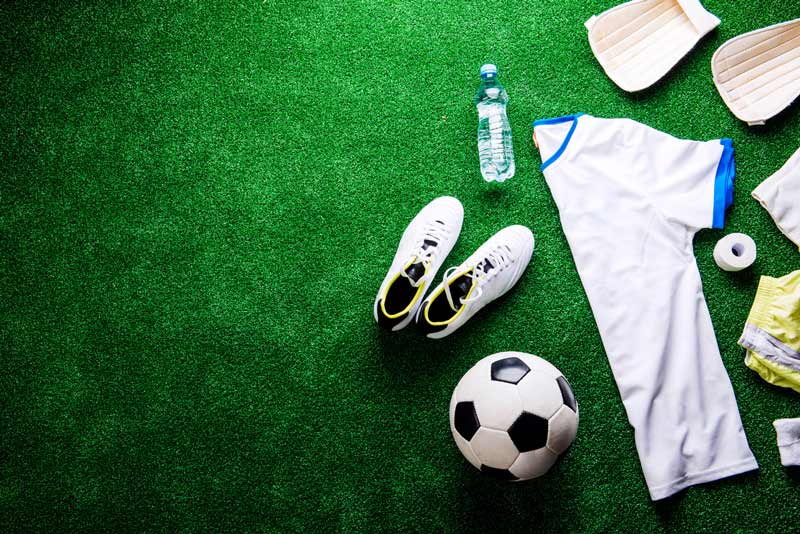 grama sintética para campo de futebol