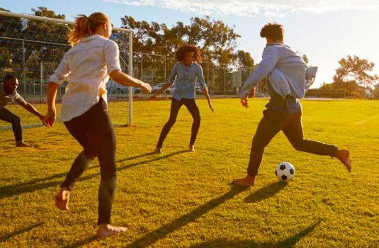 Relaçao entre futebol e saúde