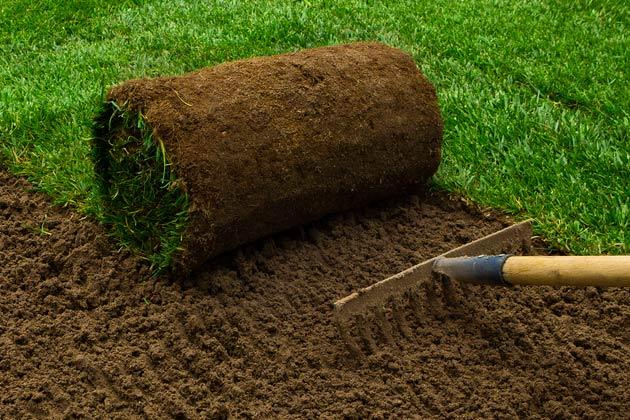 preparação de terreno para recebimento de grama sintética