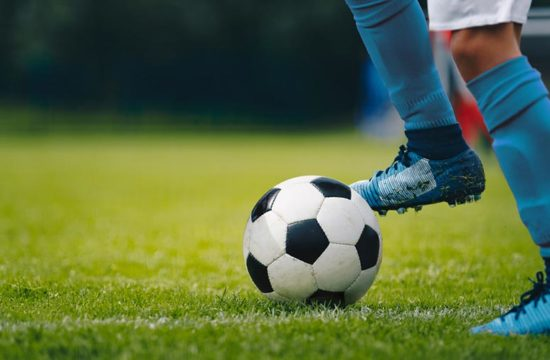 solo para treino de futebol