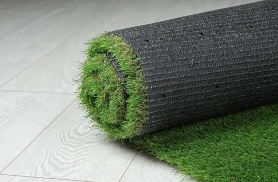 tapete de grama sintética