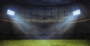 Projeto de iluminação para campo de society