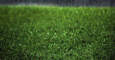 Na imagem vemos chuva. Você sabe se grama sintética empoça? Descubra!